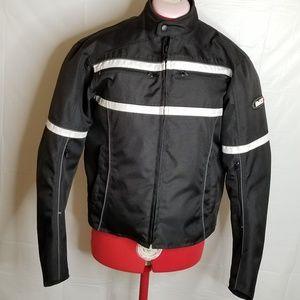 Bilt BLT2 Size Medium Motorcycle Lined Jacket euc